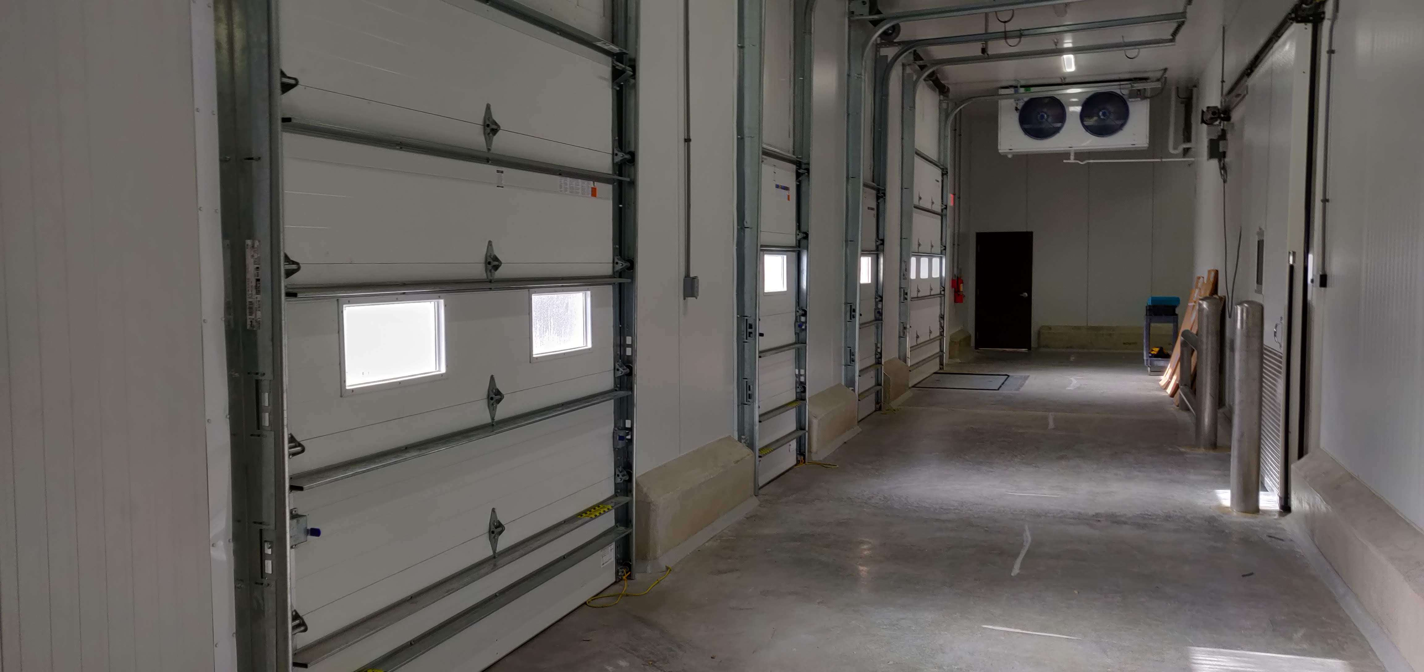 Insulated Sectional Doors.